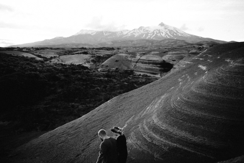 Tongariro National Park Ruapehu Engagement Shoot_005