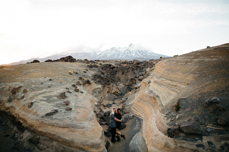 Tongariro National Park Ruapehu Engagement Shoot_020