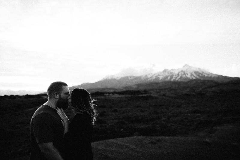 Tongariro National Park Ruapehu Engagement Shoot_033