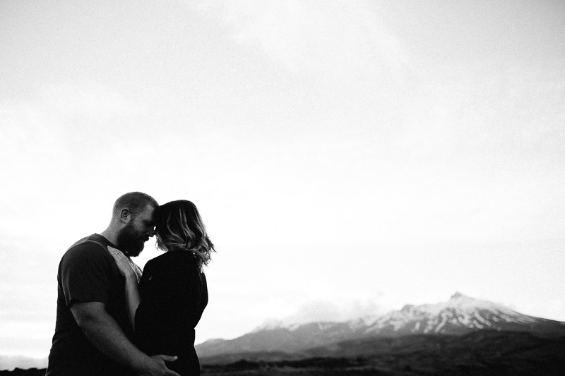 Tongariro National Park Ruapehu Engagement Shoot_034