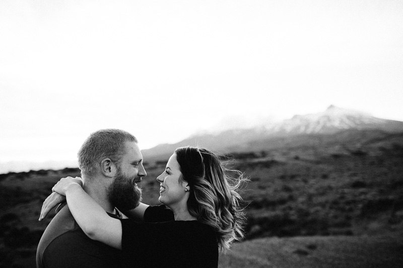 Tongariro National Park Ruapehu Engagement Shoot_035