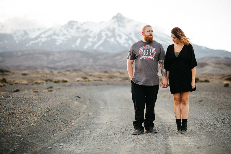 Tongariro National Park Ruapehu Engagement Shoot_038